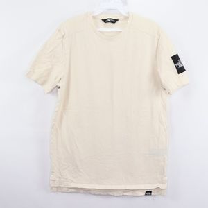 The North Face Mens Small Spell Out Patch T Shirt